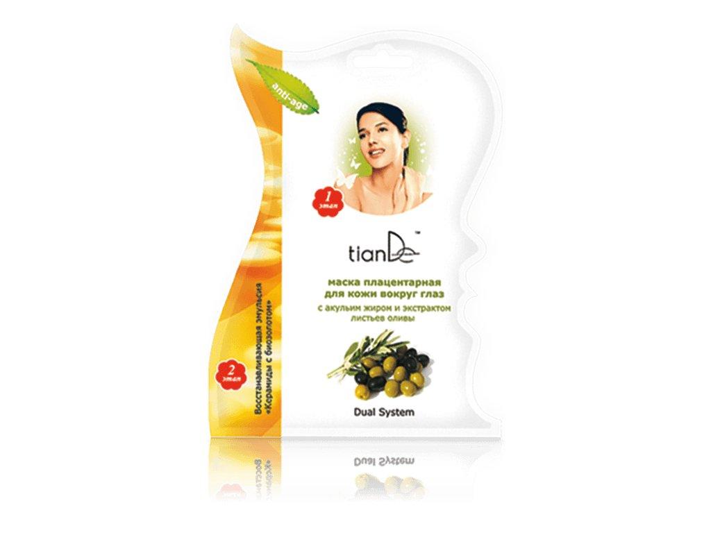 Maska na pokožku kolem očí se žraločím tukem a extraktem z listů olivy  (Body: 1,00)