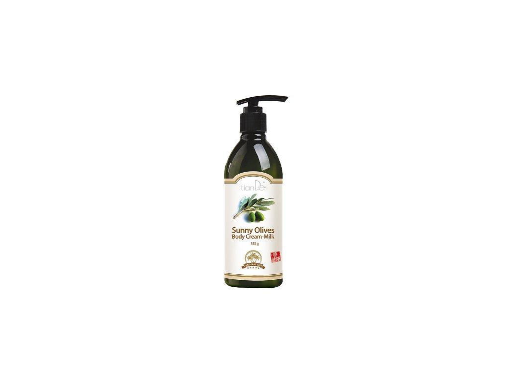 """Krémové tělové mléko """"Slunečné olivy""""  (Body: 10,00)"""