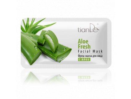 Osvěžující pleťová maska s Aloe  (Body: 1,30)