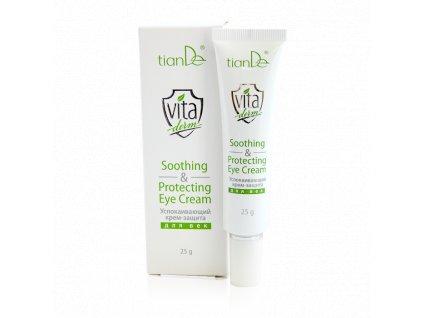 Zklidňující a ochranný krém na oční víčka Vita Derm  (Body: 15,00)