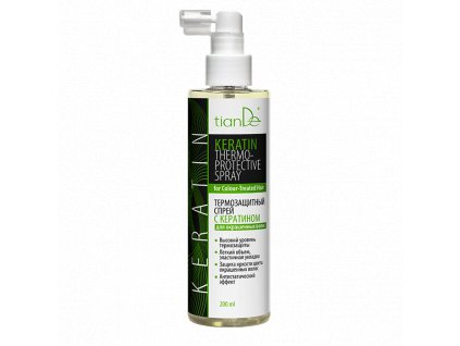Termoochranný sprej s keratinem pro barvené vlasy  (Body: 8,50)