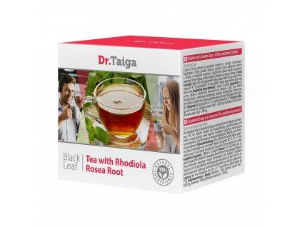 Bylinná směs černého čaje a kořene rozchodnice růžové  (Body: 6,60)