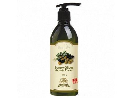 Krémový sprchový gel Slunečné olivy  (Body: 7,00)