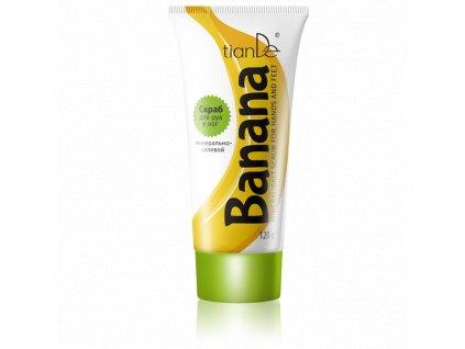 Banánový peeling na ruce a nohy  (Body: 5,00)