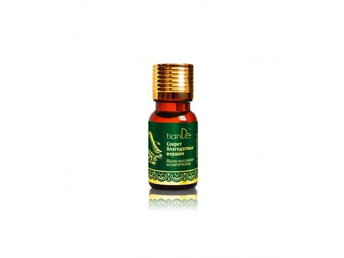 secret of the heavenly peaks cosmetic massage oil 10ml