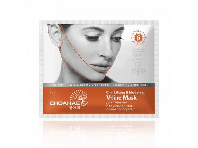 Liftingová modelovací V-line maska na bradu  (Body: 12,00)