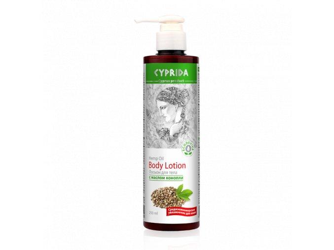 Tělové mléko s konopným olejem  (Body: 10,50)