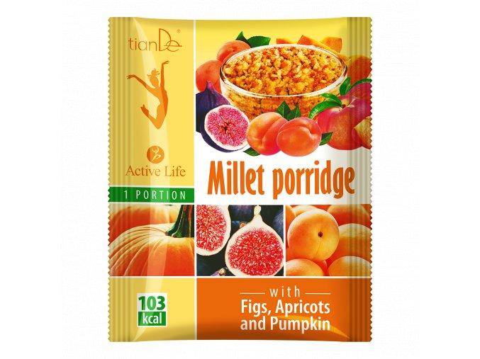 Jahelná kaše s fíky, meruňkami a dýní  (Body: 1,10)