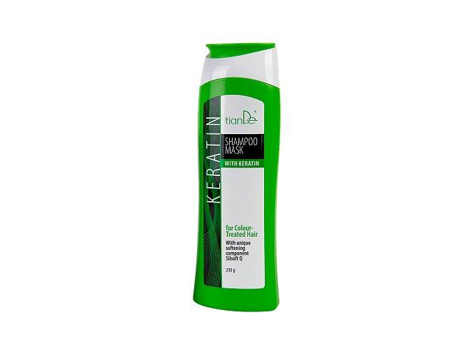 Šampón s keratinem pro barvené vlasy  (Body: 7,50)