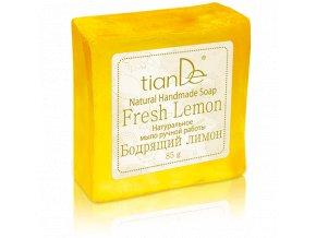 """Přírodní ručně vyrobené mýdlo """"Osvěžující citrón""""  (Body: 1,40)"""