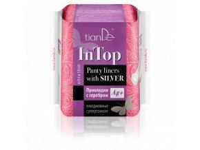 Dámské Slipové vložky se stříbrem InTop, super tenké  (Body: 3,50)