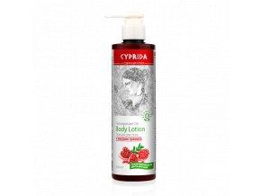 Tělové mléko s granátovým olejem  (Body: 10,50)