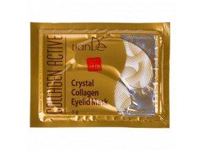 Křišťálová kolagenová maska na oční víčka Collagen Active  (Body: 3,30)