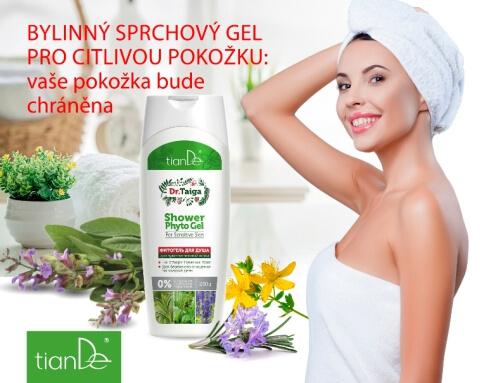 Bylinný sprchový gel pro citlivou pokožku (Prezentace)