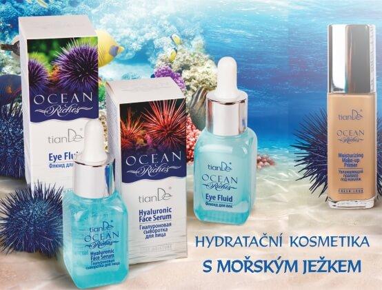 Ocean Riches_Hydratační kosmetika s mořským ježkem