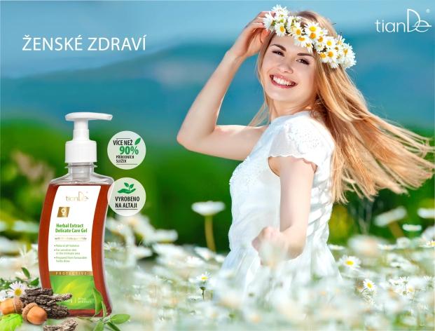 Gel pro intimní péči s bylinnými extrakty (webinář)