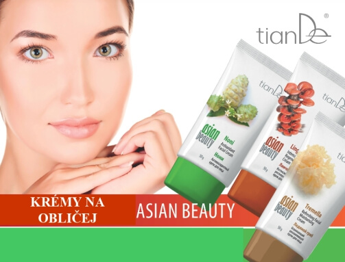 Krémy na obličej Asian beauty (video)