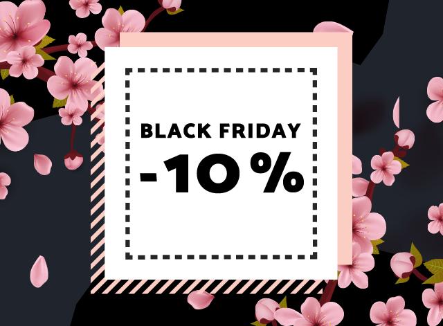 Black Friday je tady! Víte, jak využít 10% slevu?