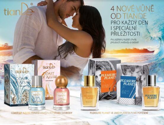 Parfémové vody od TianDe pro ženy i muže (Prezentace)