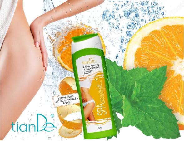 """Zeštíhlující sprchový gel """"Citrus Aroma"""