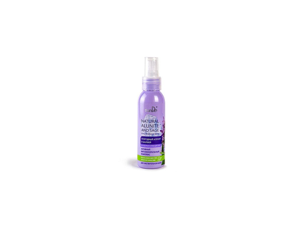 Tělový deodorant - spray, přírodní alunit a šalvěj 100 ml  Body: 8,0