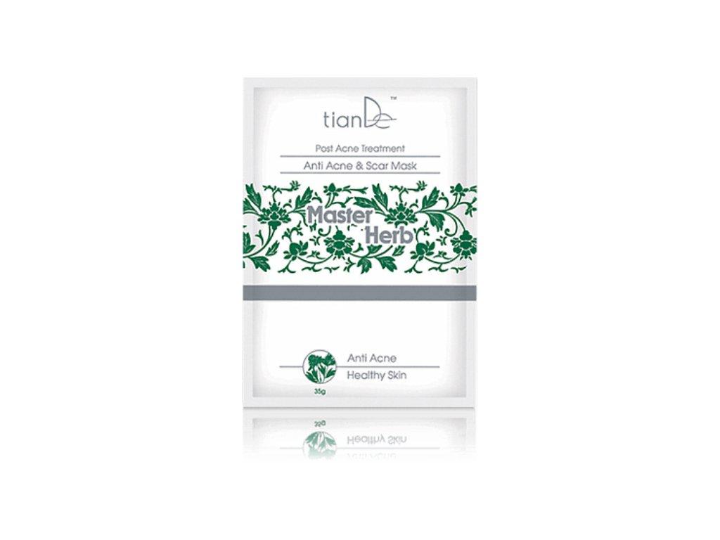 Čisticí maska na akné a jizvy Master Herb 35 g  Body: 2,1