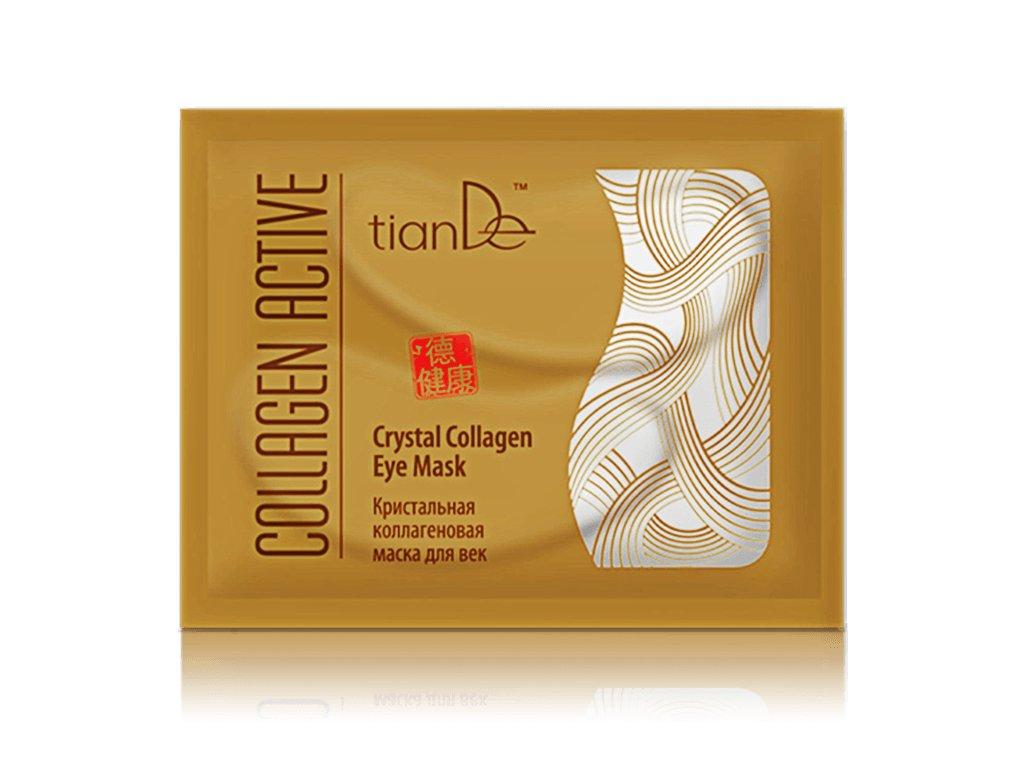 Křišťálová kolagenová maska na oční víčka Collagen Active 2ks  Body: 3,3
