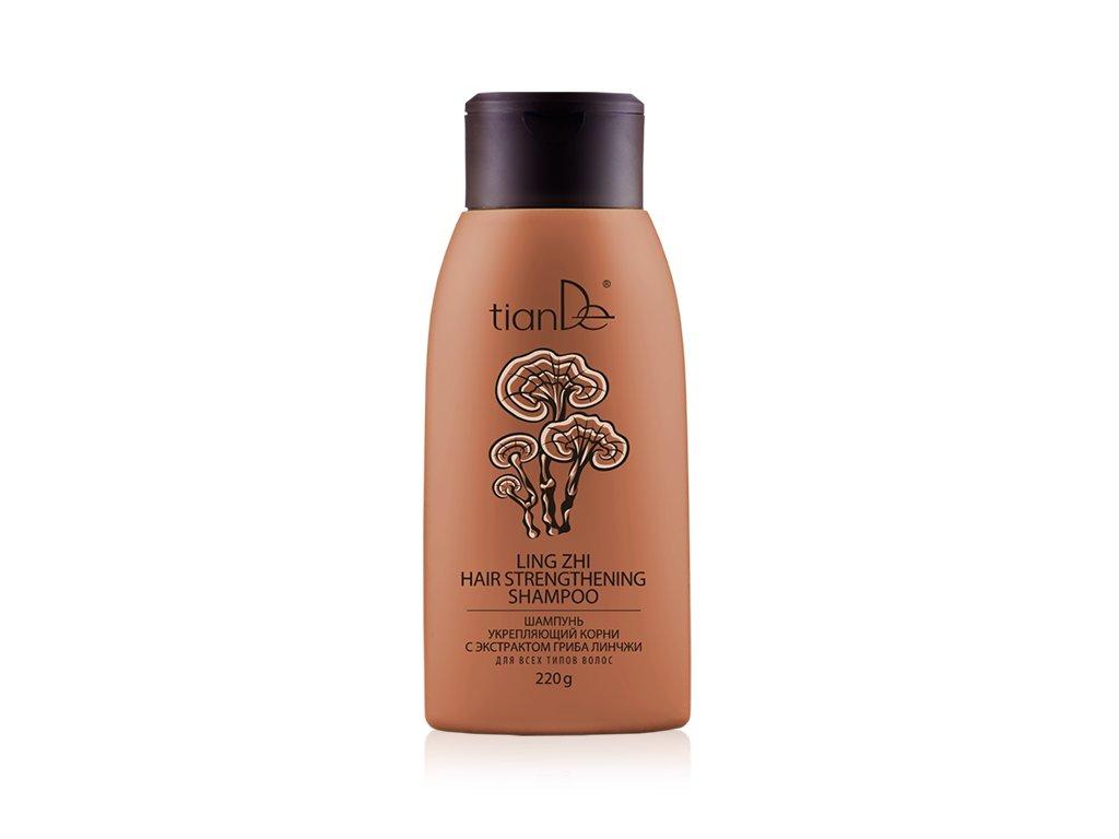 Šampon posilující vlasové kořínky s výtažky z Lingzhi 220 g  Body: 6,9