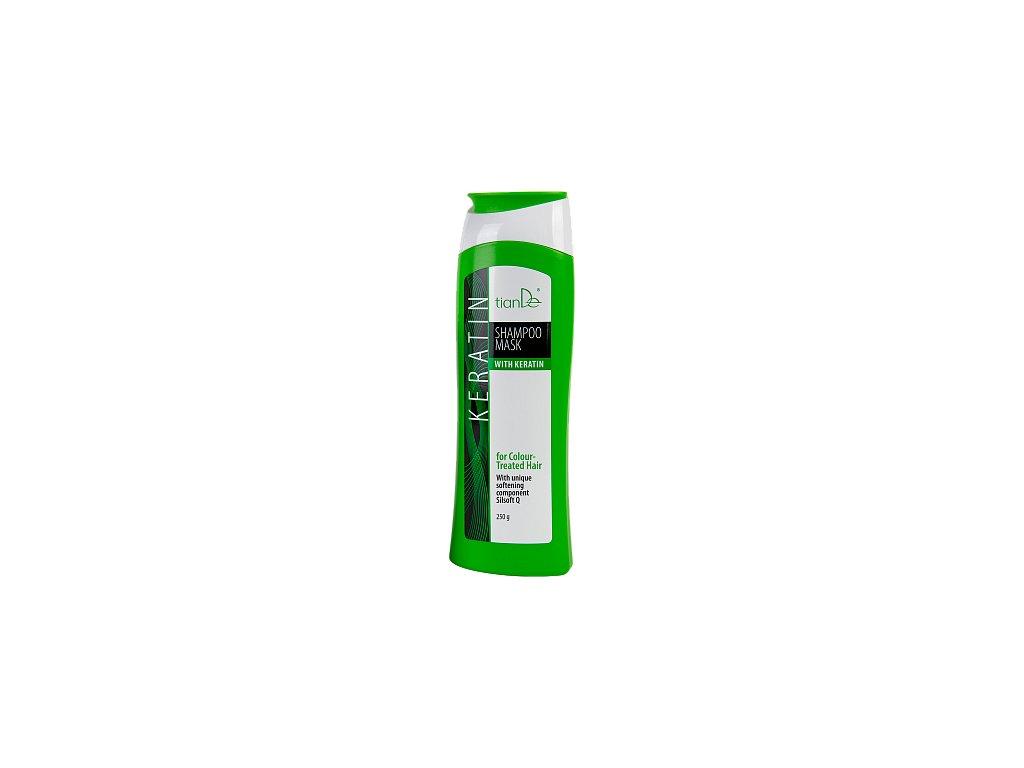 Šampon - maska s keratinem pro barvené vlasy 250g  Body: 7,5