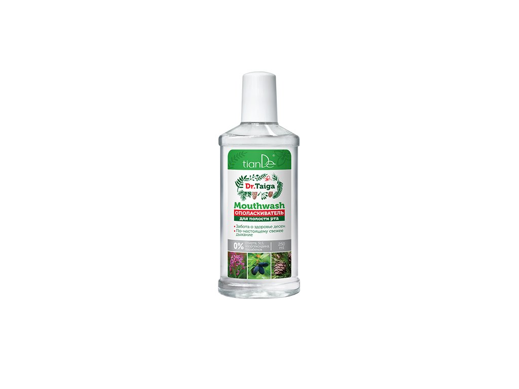Fyto ústní voda Dr. Taiga 250 ml  Body: 5,5