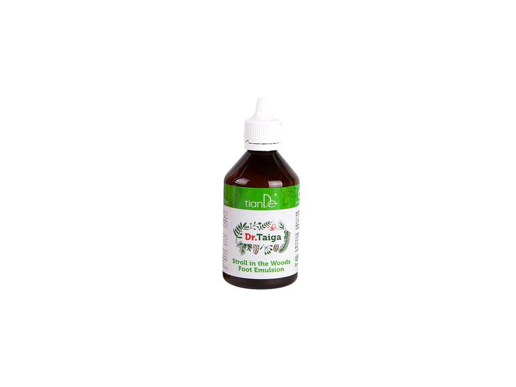 Emulze na nohy Lesní procházka Dr. Taiga 100 ml  Body: 6,0