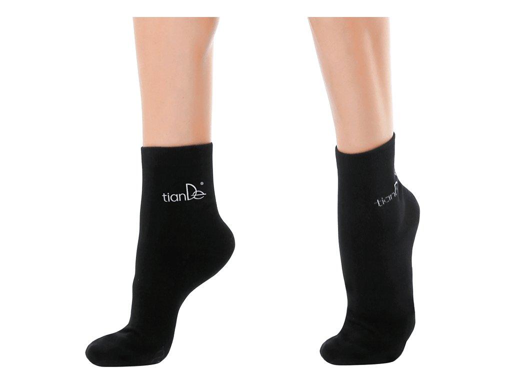 Ponožky s bodovou turmalínovou vrstvou 1 pár vel. 22 cm  Body: 7,7