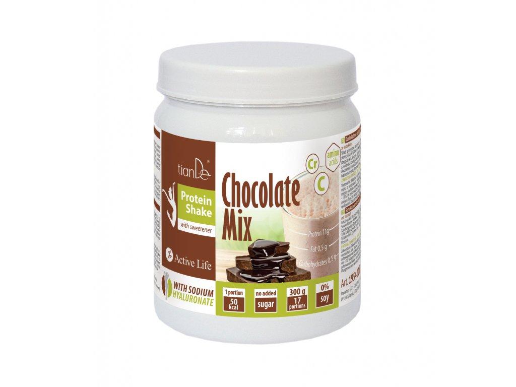 Koktejl proteinový Slim Beauty Mix Čokoláda 300 g 1. METABOLISMUS  Body: 19,5