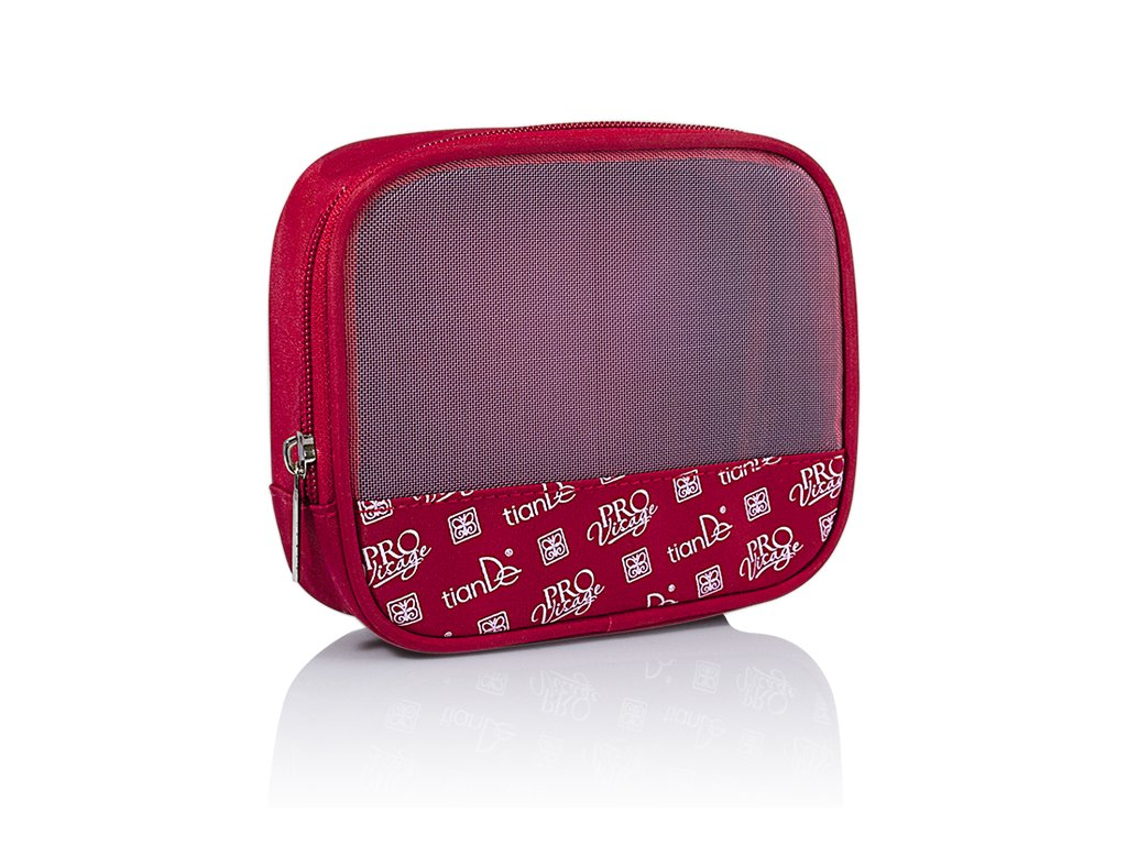 Kosmetická taštička dárková TianDe červená  Body: 1,5