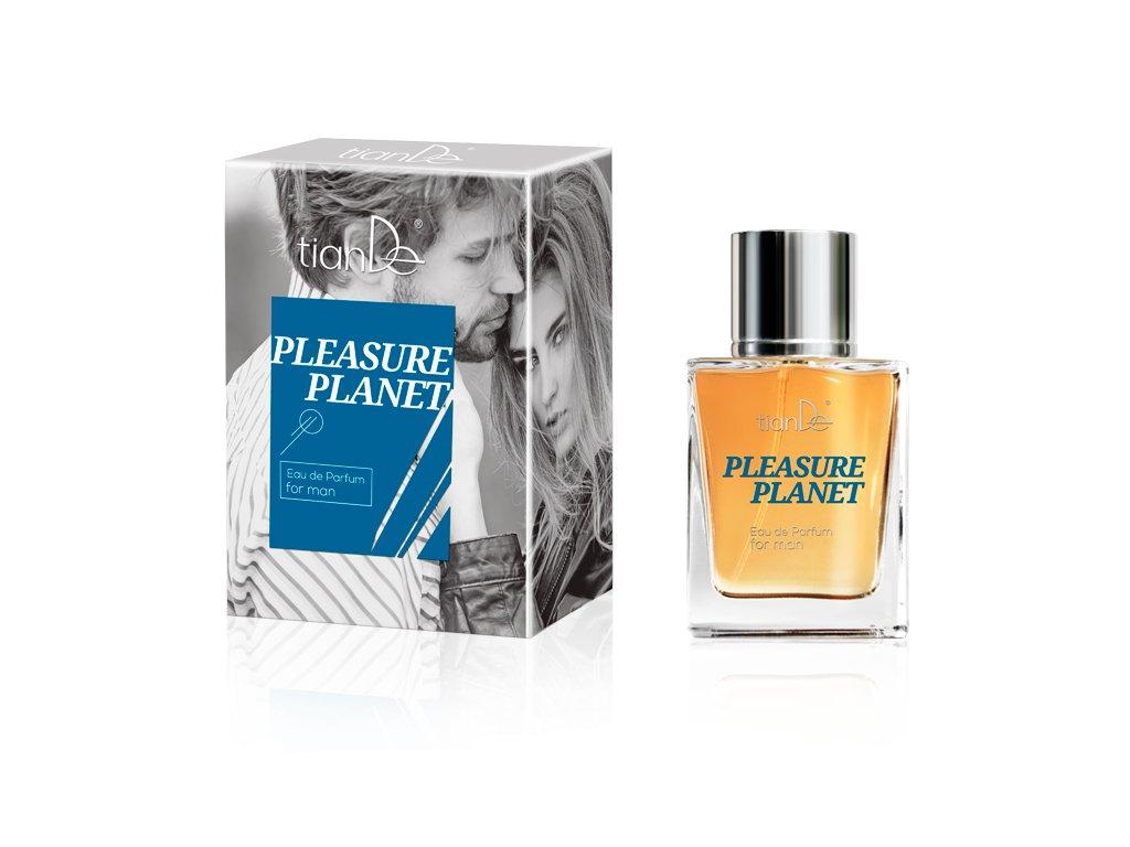 Parfémová voda pro muže Pleasure Planet 50 ml  Body: 25,0