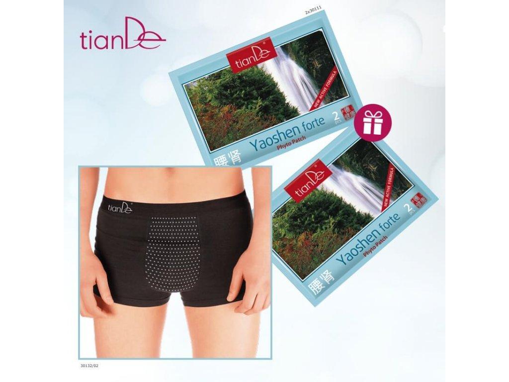 panske spodni pradlo s bodovym turmalinem 30132 02