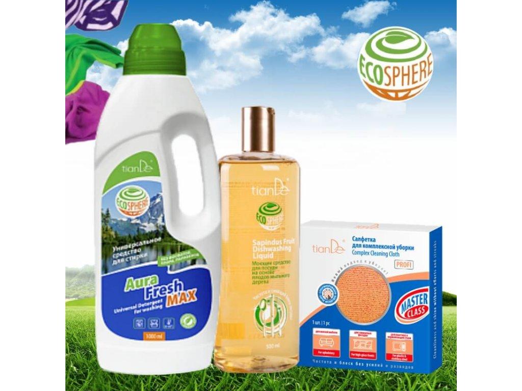 Ekologické prostředky pro domácnost