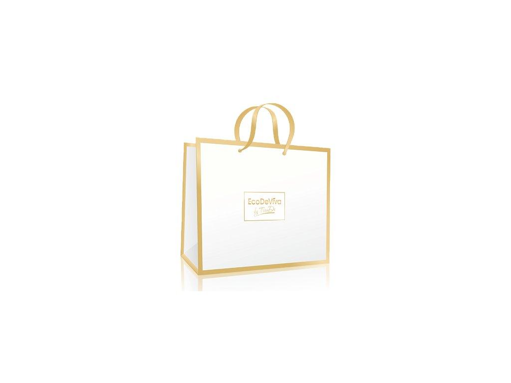 """Papírová dárková taška """"Golden Classic""""  Body: 0,0"""