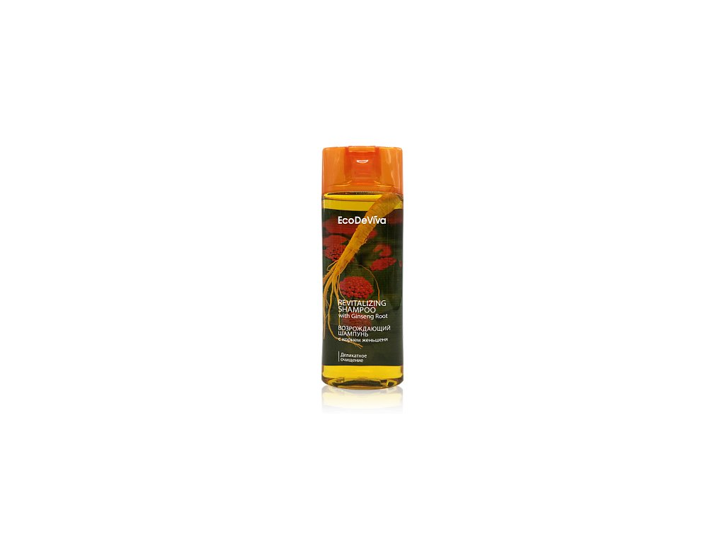 Revitalizační šampon s kořenem ženšenu 200ml  Body: 4,6