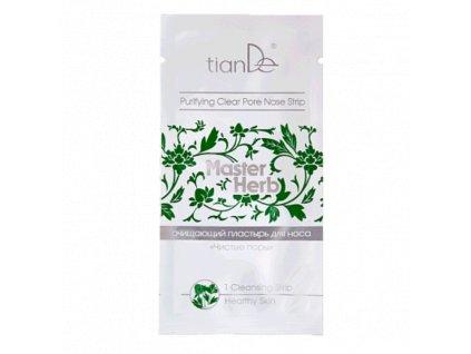 Čisticí náplast na nos Čisté póry Master Herb 1ks  Body: 0,9