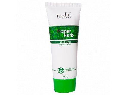 Čisticí gel proti akné a na mastnou pleť Master Herb