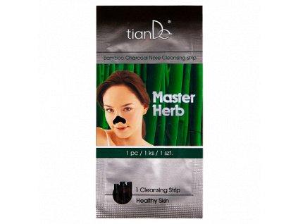 Čisticí náplast na nos na černé tečky a akné Master Herb 1ks  Body: 1,1