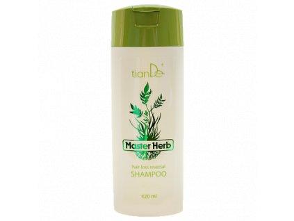 Šampon na padající vlasy Master Herb 420 ml  Body: 13,5