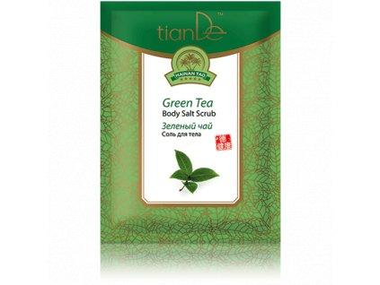 Tělová sůl Zelený čaj 60 g  Body: 1,7