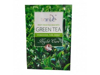 Krémová maska Zelený čaj 18 g  Body: 1,2