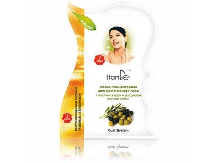 Maska na pokožku kolem očí se žraločím tukem a extraktem z listů olivy 11 g  Body: 1,0
