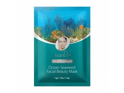 Pleťová beauty-maska s mořskými řasami 1 ks  Body: 1,4