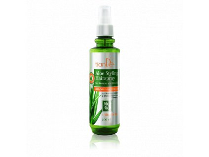 Stylingový sprej na vlasy s Aloe Objem a pružnost 200 ml  Body: 6,0