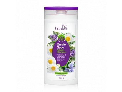 Jemný šampon Něžná šalvěj 250 g  Body: 2,5