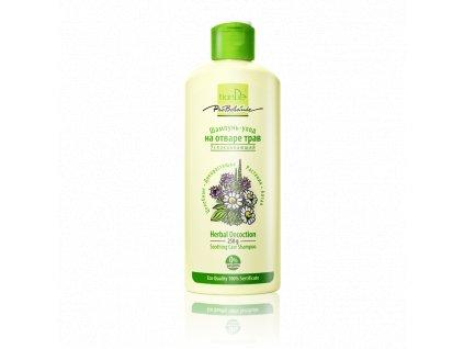 Zklidňující pečující šampon z bylinného odvaru 250g  Body: 6,5